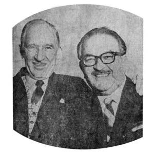 Roger Musick,  left; Mohammed Iqbal,  Alias Bali